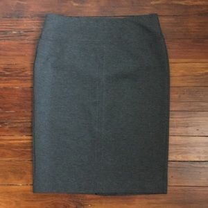 Grey Ann Taylor pencil skirt